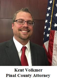 Pinal County Attorney Kent Volkmer photo