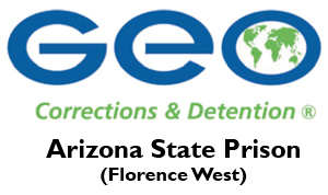 The GEO Group/AZ State Prison (Florence West) logo